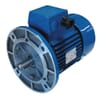 Electric motor B5 flange mounted 2 poles (3000 rpm) EFF2/IE1