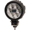 Work light LED, 24W, 1500lm, round, 10/30V, Ø 117mm Deutsch plug, Spot beam, 6 LED's, Kramp