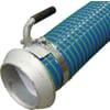 """PVC zuig- en persslang blauw/groen 6"""" compleet met KKV koppeling Perrot en zuigstuk"""