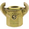 Claw couplings with inner thread and brass gasket