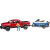 U02503 RAM 2500 PowerWagon mit Anhänger, personal water craft und Fahrer