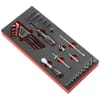 """MODM.R181-36 module sockets 1/4"""" hex with high-precision ratchet"""