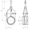 "Gate valves & accessories - MZ threaded 4"" spare Parts"