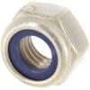 +M8 self-locking engraved nut