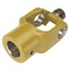 +Wide-angle hub yoke Powerdrive - with plain bore and keyway