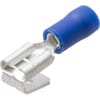Flat plug with tongue connector blue 1.5-2.5mm²