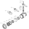 Spare parts for 455111 X . . ( 2-way) - Arag