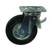 Lenkrollen - mit Rollenlager und Bremse