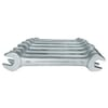 6 Double Open Ended Spanners set