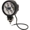 Work light LED, 29W, 2500lm, round, 10/30V, Ø 117mm, Spot beam, 6 LED's, Kramp