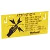 Warning sign  Rutland