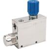 3 way flow control valve type FPRFU
