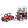 U62701 Fire station with Land Rover