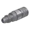 Quick-release coupling, flat face, bush type FFH-UNF bulkhead