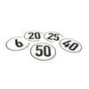 Vehicle speed sign