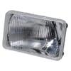Headlight insert Halogen, rectangular, transparent, Cobo