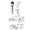 Becker Aeromat E-motion-12 - Raccord de ventilateur