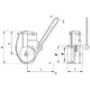 "MZ handle valve 3"" spare Parts"