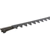 Cutterbar mower knife, 24 sections