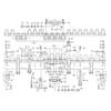 Busatis - Doppelmesserbalken mit Mittenantrieb und Exzenterbolzen 1,20 / 1,35m