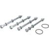 Bolt sets for DFE valves
