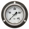 Pressure gauge assembly 100 mm in stainless steel