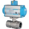 Pneumatic actuated ball valves - double acting