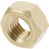 DIN 934 hexagonal nuts, metric, brass