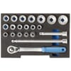 """1100 CT1-19 Socket set 1/2"""" in 1/2 CT module, for L-BOXX® 136, 21-piece"""