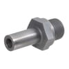 Stainless steel male standpipe coupling EGES-BSP-WD