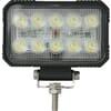 Work light LED, 15W, 1900lm, rectangular, 10/30V, 150x37x100mm, Spot beam, 10 LED's, Kramp
