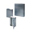 Compact enclosures AE, one door, Stainless steel