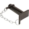 Black line Hitch pins with chain and linch pin