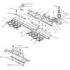 NH forgattyús hajtás (TF és TX) vágásszélesség 3,90 m