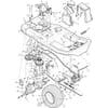 Rahmensatz - Fahrantrieb für Murray TYP 30540X20E