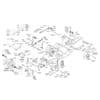 Rahmensatz - Lenkung für ALKO TYP PowerLine T18-102HD