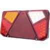 Multifunction rear LH light LED, rectangular, 12-24V, 242x134x36.5mm, 7-pin, Kramp