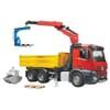U03651 MB Arocs Baustellen LKW mit Kran