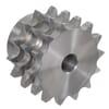 "Kettingwielen voorgeboord - BS / DIN 8187 - Triplex 3/4"" x 7/16"""