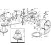 Antrieb - Getriebe für Castelgarden TYP 102-122 - Bj. 2003