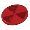 Round reflector, red, self-adhesive, Hella