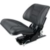 PVC seat, rear mechanical suspension, adjustable by foot  TS16001GP