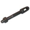 Slotted plug bolt