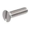 DIN 963 countersunk bolts with slot head, metric A2 stainless steel — AISI 304