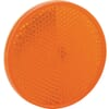 Round reflector, yellow, self-adhesive, AJBA