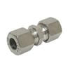 Stainless steel straight coupling GV