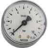 Plastic pressure gauge rear connection, 50 mm