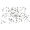 Schneidwerkzeug - Mähdeck für ALKO TYP Comfort T1000