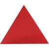 Driehoek-sticker klein