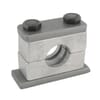 Single pipe clamps HD RS..Z Aluminium
